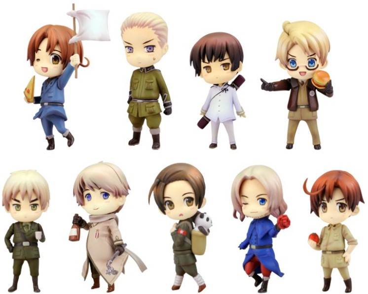 Hetalia Axis Powers Renewal Package Ver.